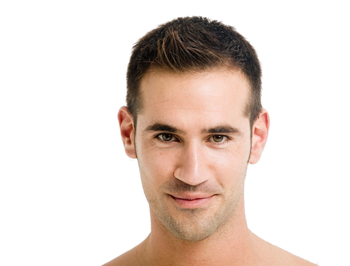 Men hair transplantation procedure